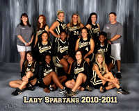 Lady Spartans Softball 2010-2011