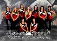 PRHS Southern Sweethearts 2013-2014