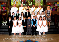 St Luke's First Communion 2013