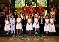St. Luke's First Communion 2014