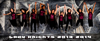 013-Lady Knights-2014pano-10x24