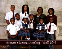 Harvest Christian Academy Fall 2014
